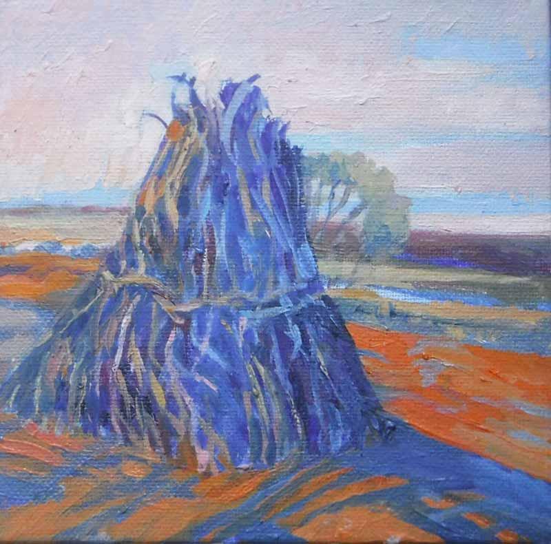 Blue Cornstack