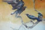 Roosting Crows