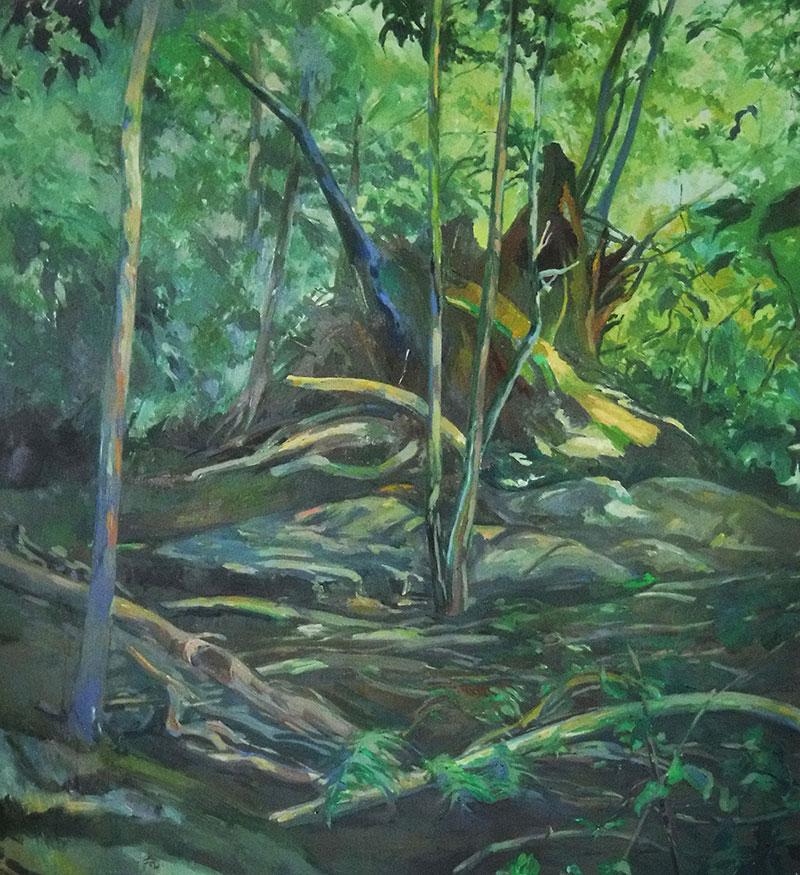 Tree Stump Summer