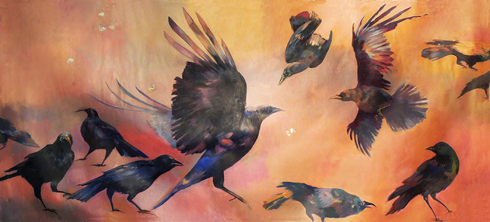 Crows and Cabbage Moths*